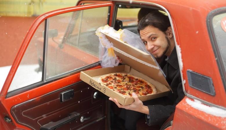 Житель Томска женился на пицце