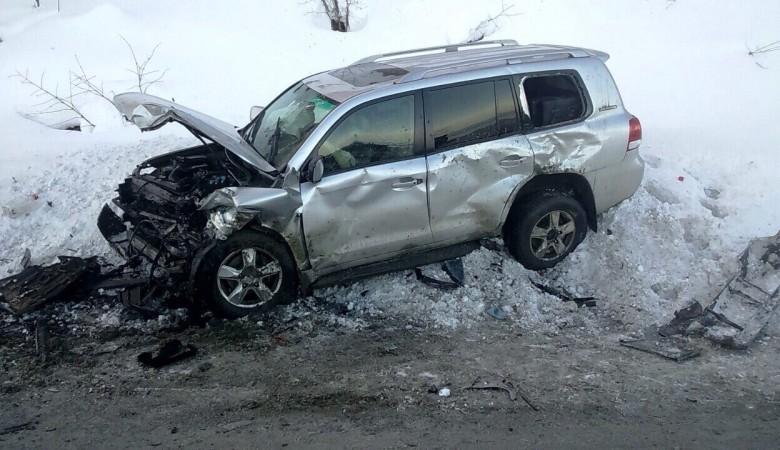 Двое погибли, трое пострадали в столкновении иномарок в Приангарье
