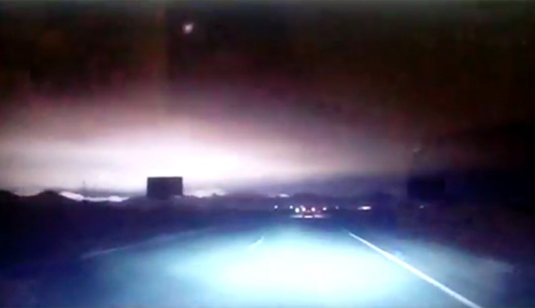 В Хакасии упал метеорит