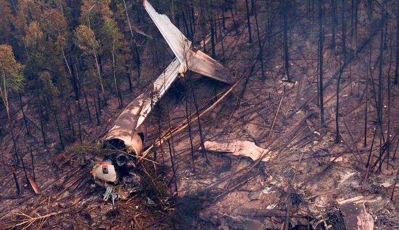Найден разбившийся Ил-76