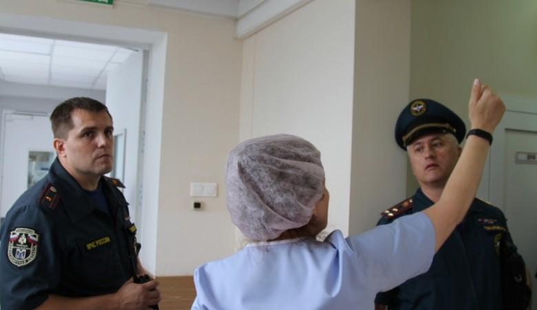 В Новосибирской областной больнице из-за задымления эвакуировали пациентов