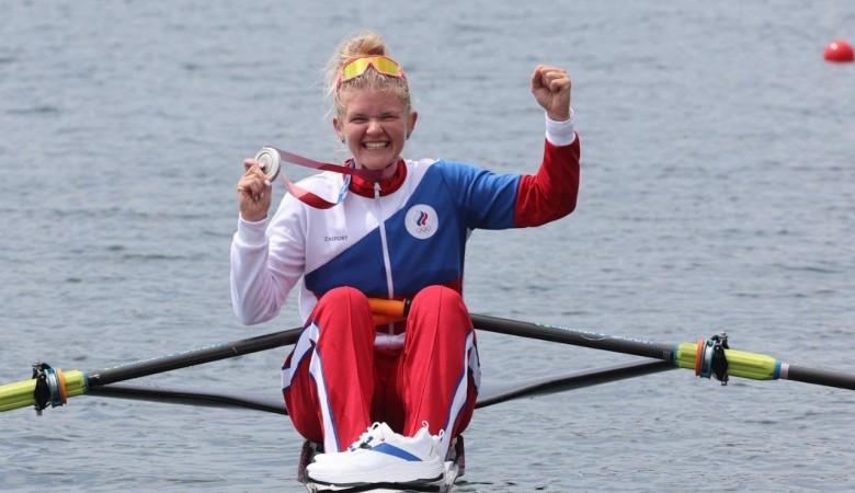 Россиянка Анна Пракатень выиграла олимпийское серебро в академической гребле