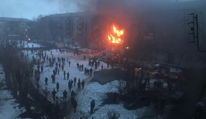 В жилом доме Магнитогорска произошел взрыв газа, есть погибшие
