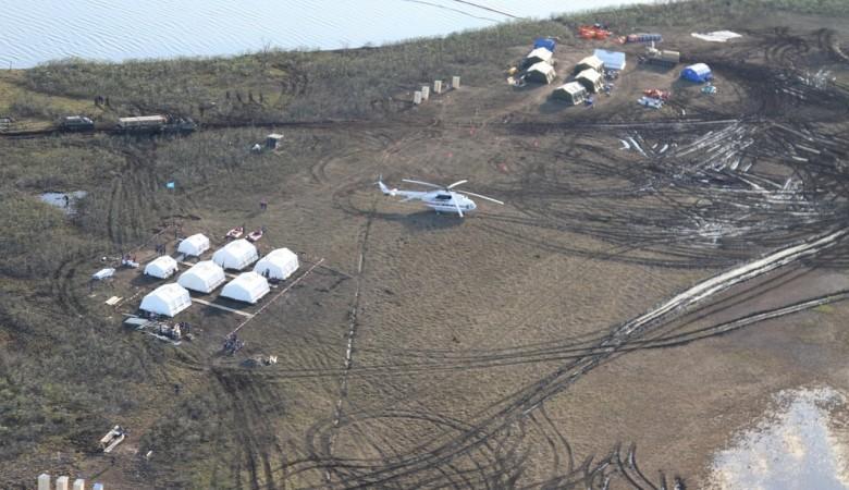 В Норильске произошел разлив топлива во время работ по ликвидации прошлого происшествия
