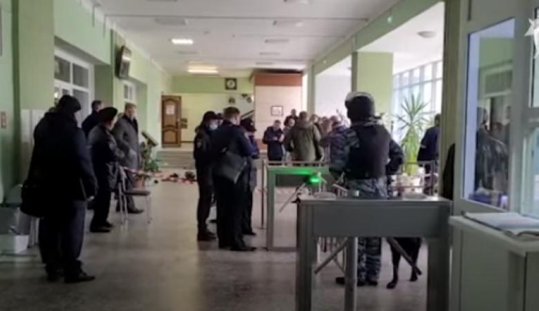СК показал кадры с места трагедии в Перми