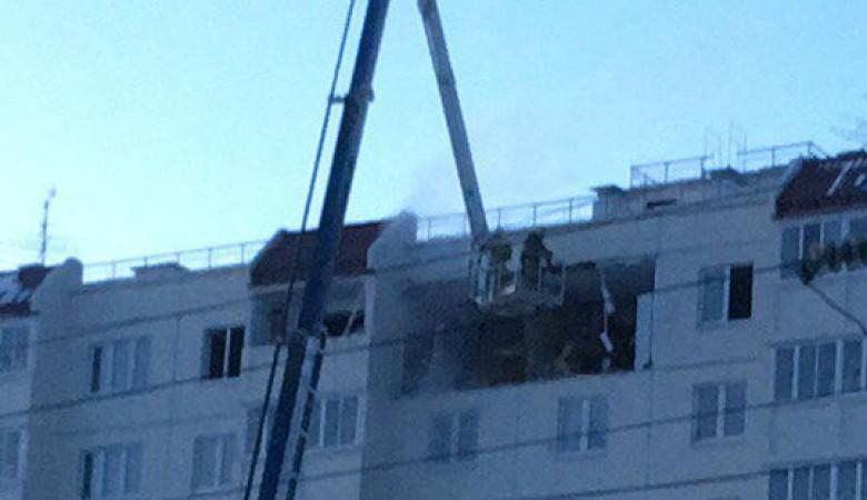 Взрыв газа произошел в 10-этажном жилом доме в Омске