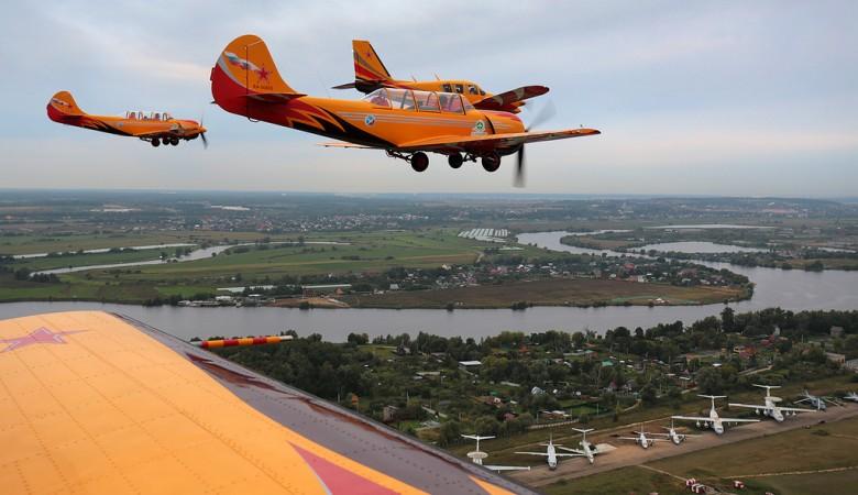 Над Братском в День Победы пролетят самолеты с красными звездами