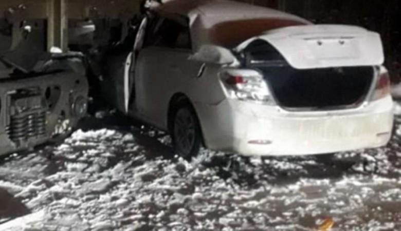 Подросток на «Тойоте» врезался в поезд на ж/д переезде в Ангарске