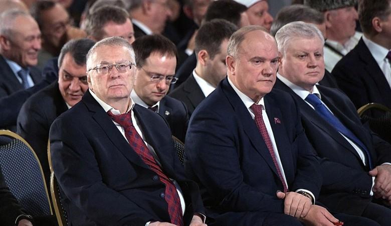 Жириновский отказался от мандата в Верховный хурал Тувы
