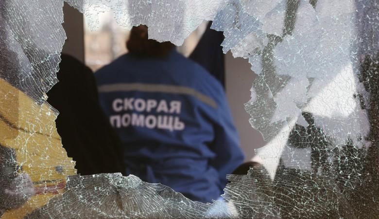 Скорая увезла одного участника голодовки бывших рабочих президентской стройки в Хакасии