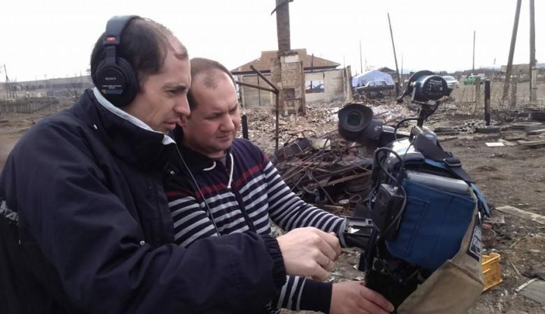 Корреспондента Первого канала, пытавшегося устроить пожар в Хакасии, пожурили
