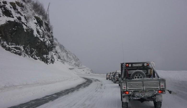 Двенадцать человек спасены в Туве из сломавшихся на трассах в морозы автомобилей
