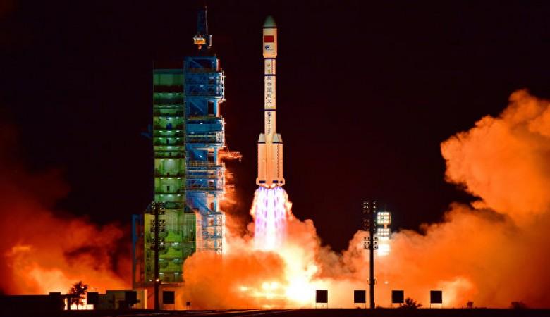 КНР запустил вкосмос телекоммуникационный спутник