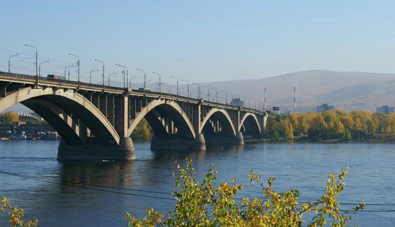 Глава Тувы дал старт строительству нового моста через Енисей