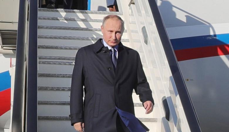 Путин прилетел в Хакасию, где отдохнет несколько дней