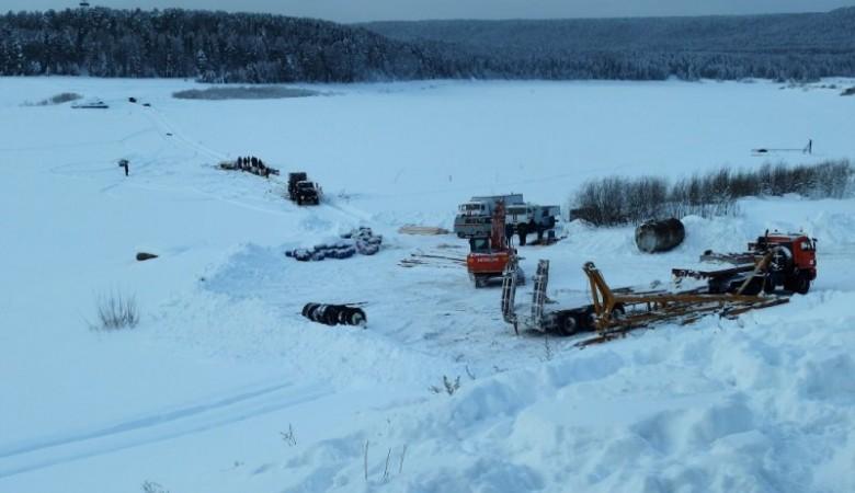 Концентрация топлива в Лене, где в январе утонул бензовоз, превышена в 16-28 раз
