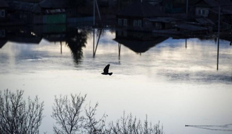 Около сотни приусадебных участков и два десятка домов подтоплены паводком в Хакасии