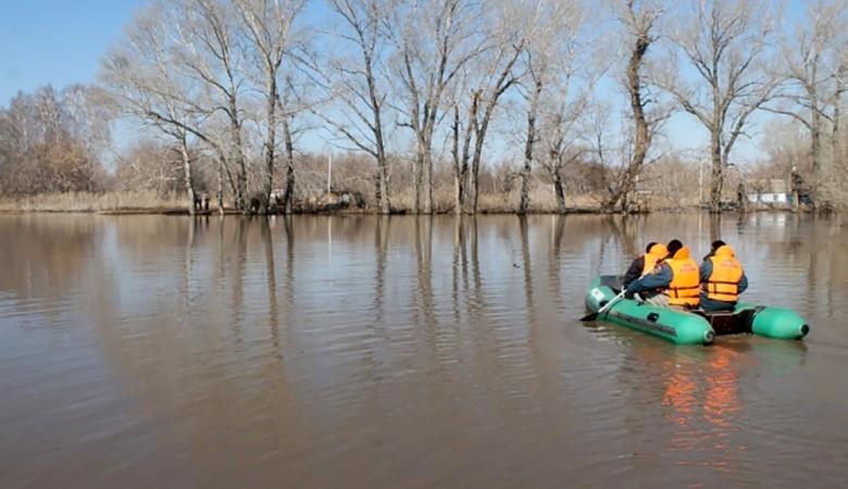 Уральские спасатели эвакуировали 12 человек из зоны паводка в Алтайском крае