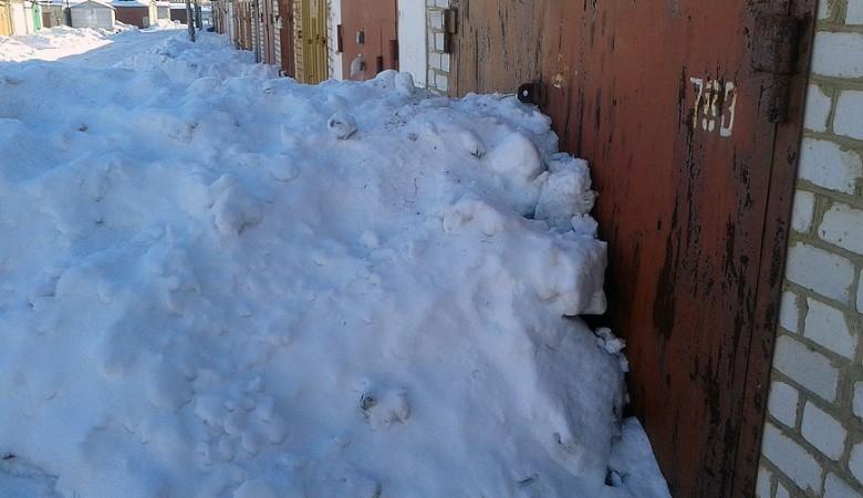 ВТомске упавший сгаража снег насмерть задавил семилетнего ребенка