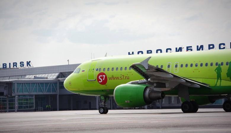 Самолет из Москвы в Кемерово из-за неполадок отправили в Новосибирск