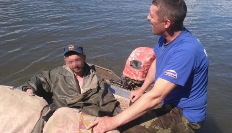 Житель Томской области заблудился в лесу и прожил у ручья неделю