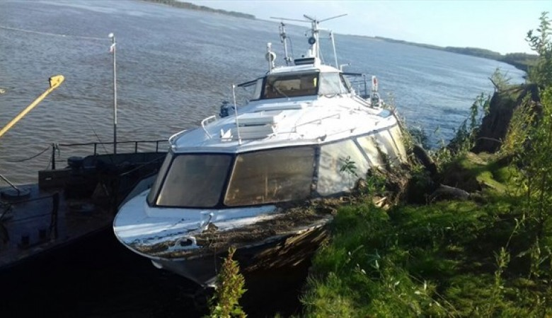 Капитан судна изНовосибирска оштрафован томским судом на100 тыс руб.