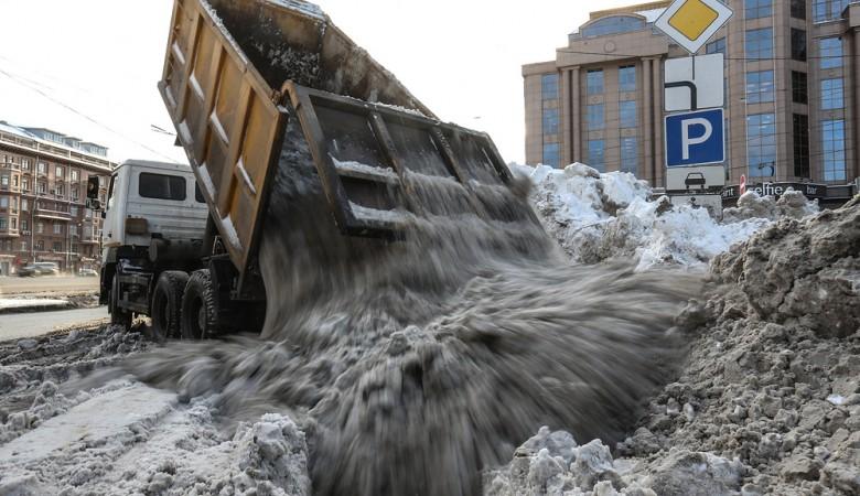 Предприятия Новосибирска помогут властям в уборке городских улиц от снега