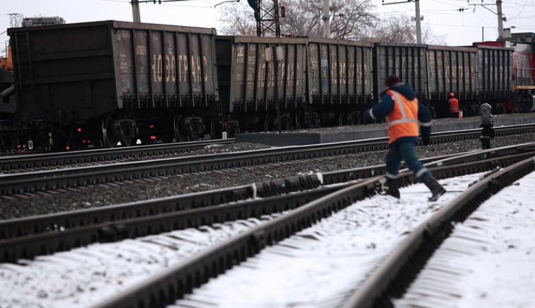 Скорость грузовых поездов на забайкальском участке Транссиба ограничена из-за морозов