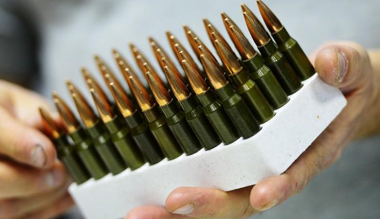 Казахстанские пограничники пресекли ввоз оружия и патронов в Россию