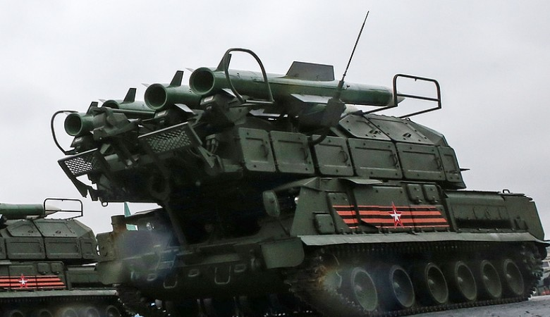 Зенитчики в ходе конкурса в Забайкалье уничтожили 40 самолетов «противника»