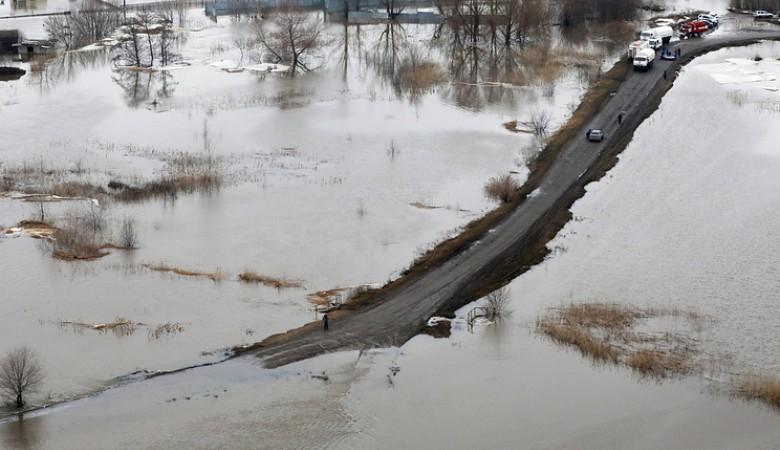 Два моста закрыты из-за паводка в Новосибирской области
