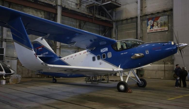 Самолет ТВС-2ДТС, сделанный на Улан-Удэнском авиазаводе, презентуют в Якутске