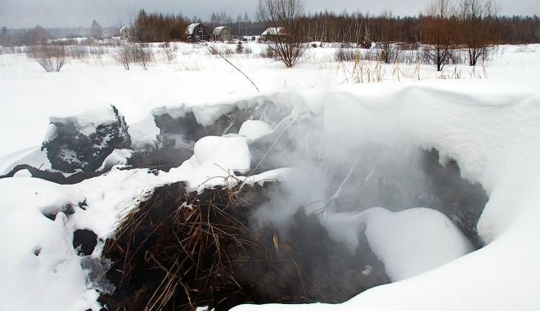 Торфяные пожары вКачугском районе будет тушить Рослесхоз