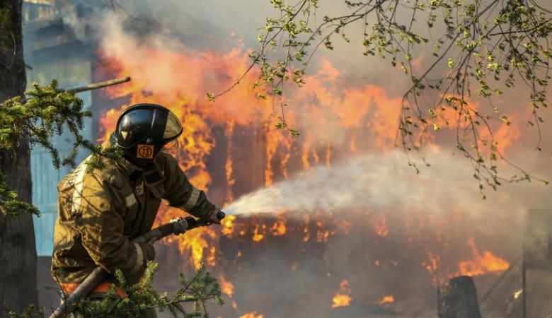 В Забайкалье количество лесных пожаров увеличилось в 3 раза