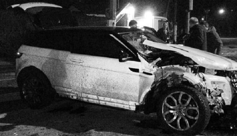 В Новосибирске пьяный угонщик разбил Range Rover
