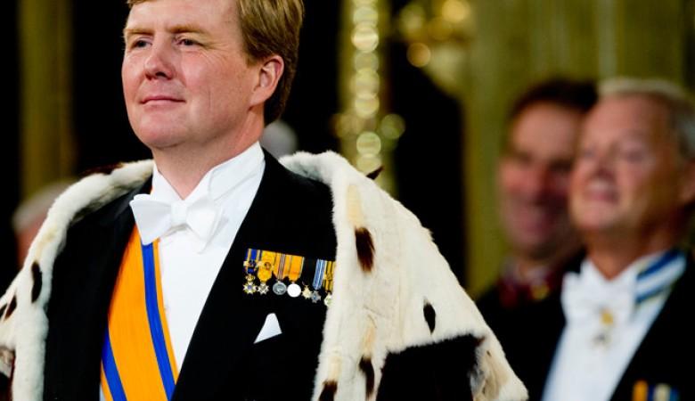 Король Нидерландов посетит Китай 7-8 февраля