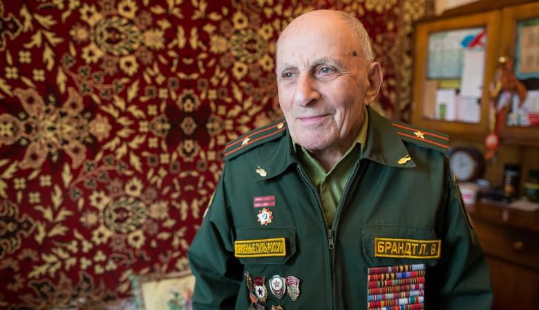 Освободителя Освенцима Леонтия Брандта похоронили в Томске