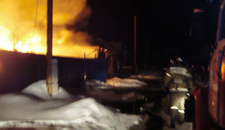 Один и старейших деревянных костелов России сгорел в Томской области