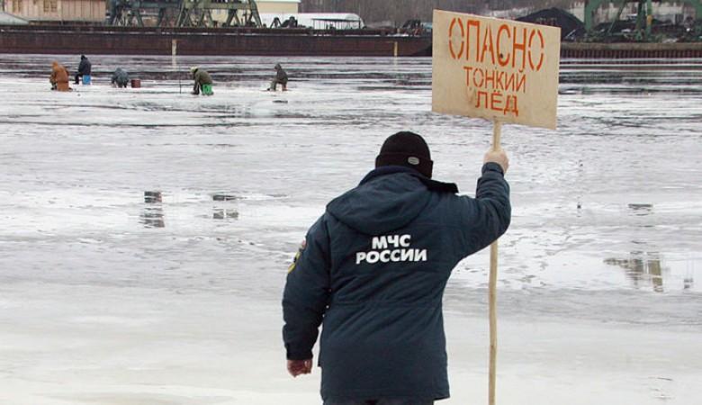 Спасатели планируют разрушать лед на водоемах Красноярского края для безопасности людей