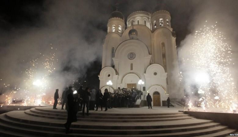 Уголовное дело возбудили против поджигателя храма Рождества Христова в Красноярске