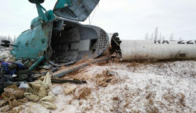 На месте крушения Ми-8 в Томской области найдены «черные ящики»