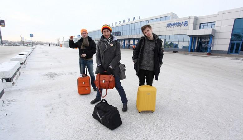 Шесть рейсов в Омск, задержанные из-за тумана, прибыли в аэропорт назначения