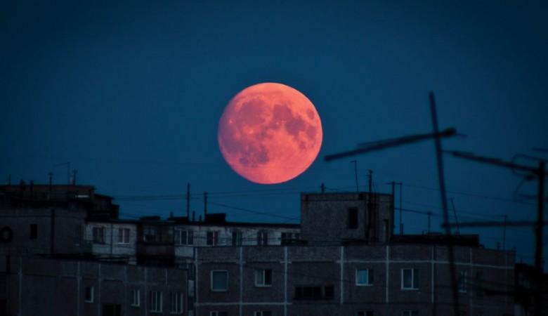 Над Иркутском взойдет «кровавая» Луна