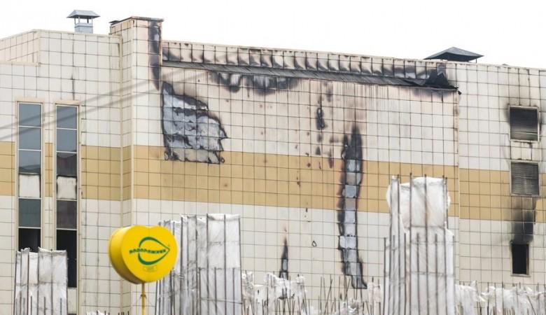 Начался демонтаж комплекса зданий «Зимней вишни», унесшей жизни 60человек