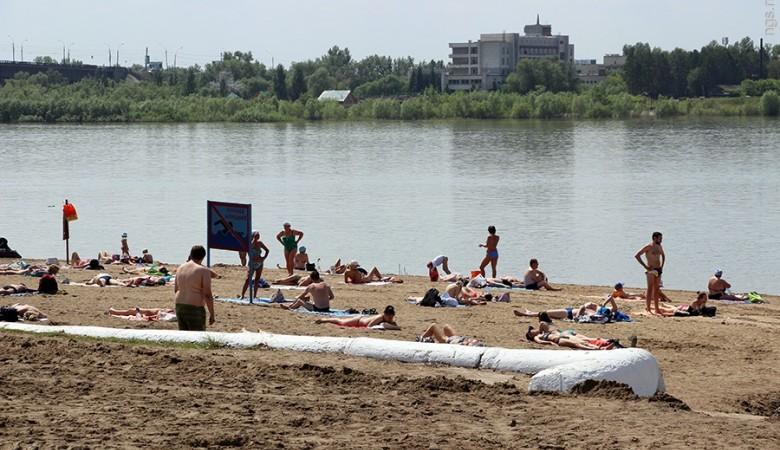 ВОмске заканчивается летний пляжный сезон