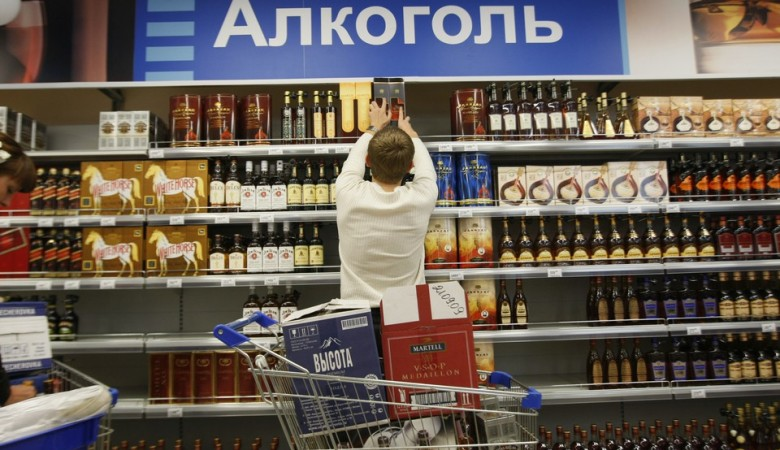 Минздрав предлагает запретить продажу алкоголя в выходные дни