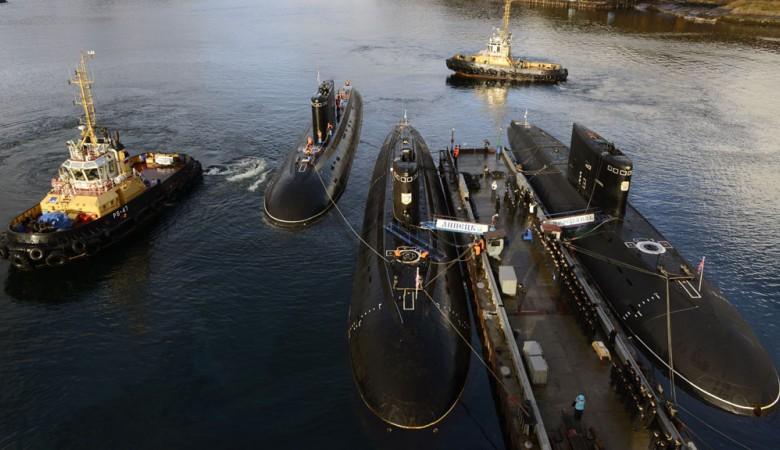 Экипаж атомной подлодки