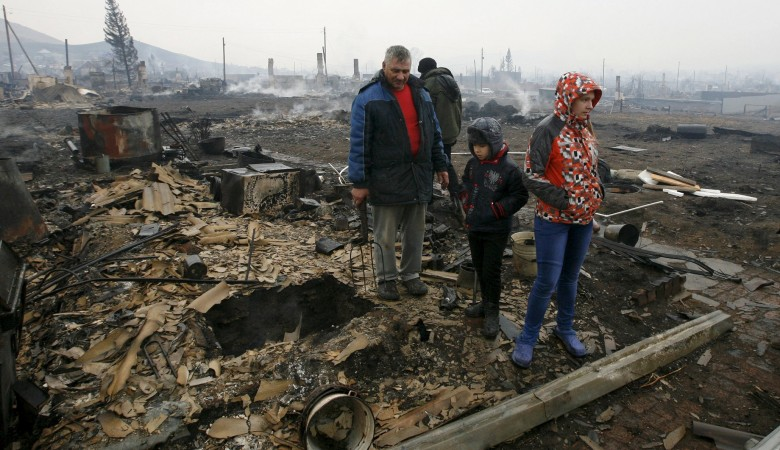 Путин проверит ход строительства домов для погорельцев Хакасии