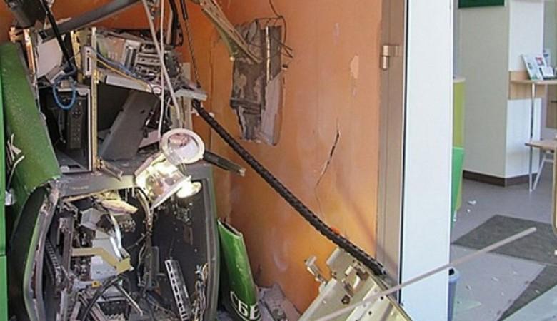 Банкомат Сбербанка взорван в Улан-Удэ