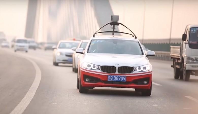 Полиция Пекина начала проверку после тестирования на улицах беспилотного автомобиля Baidu